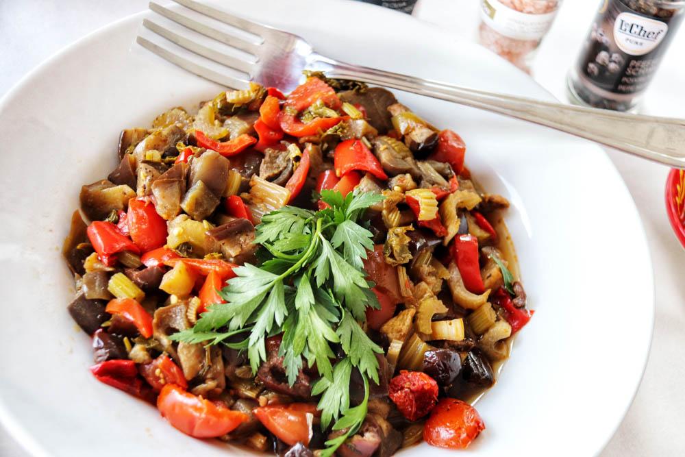 Italienischer Gemüsesalat
