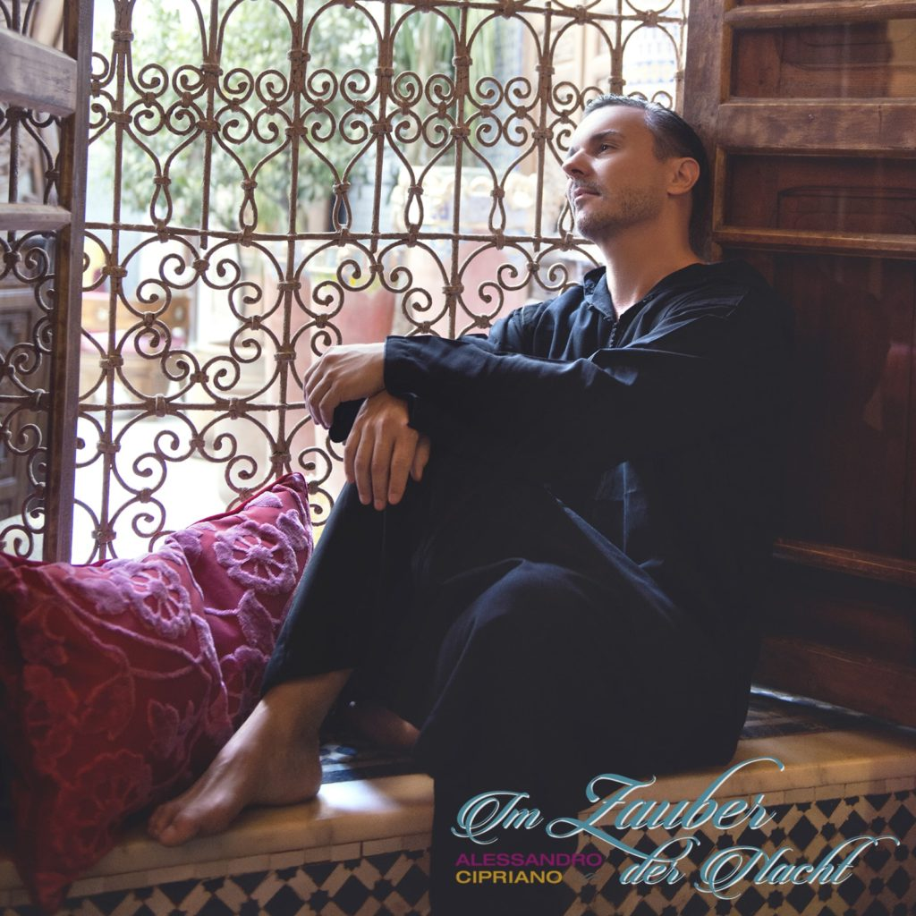 Im Zauber der Nacht, during the photo shoot with Alessandro Cipriano @ Riad Enija