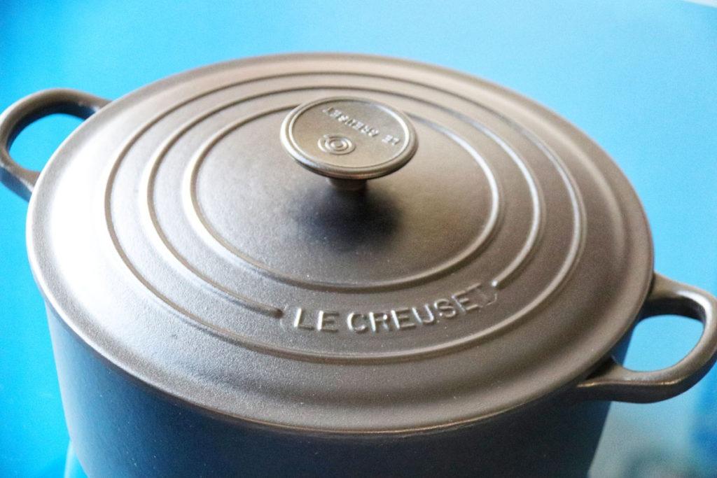 Le Creuset Signature Cast Iron Round Black Casserole