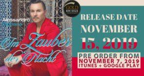 Single Release 15. November 2019, Im Zauber der Nacht von Alessandro Cipriano
