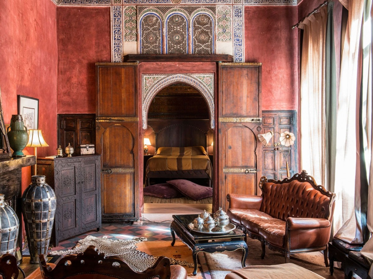 One of the charming rooms @ Riad Enija