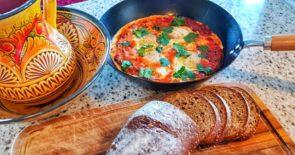 Shakshuka, Eggs in Tomato Sauce