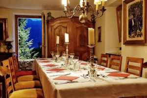 Tenuta Casa Cima, guest house, dining table
