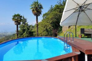 Tenuta Casa Cima, guest house at the pool area