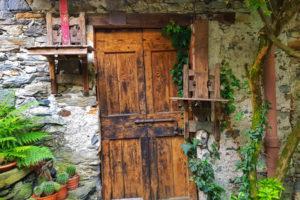 Tenuta Casa Cima, Guesthouse, wooden door