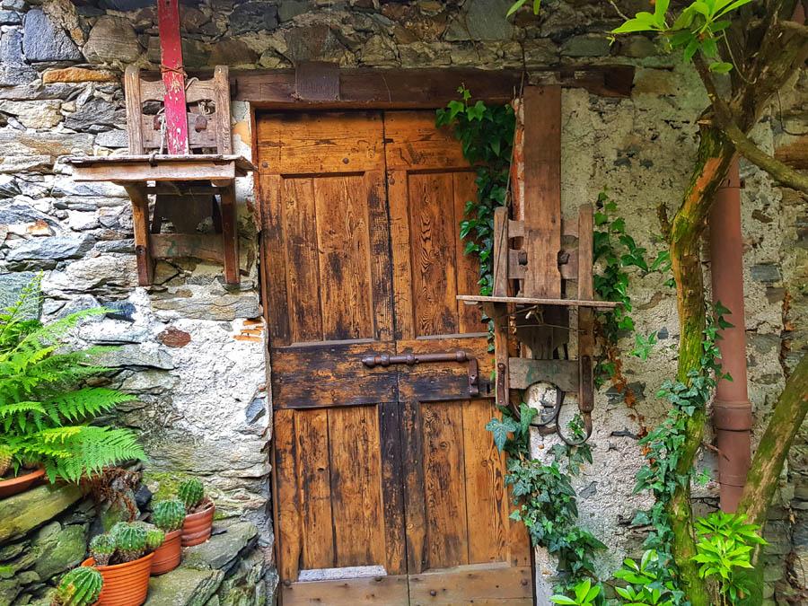 Tenuta Casa Cima, Guesthouse, Holztür