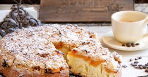 Apricot Crumble Cake Recipe