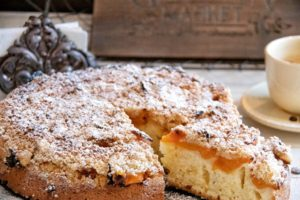 Apricot Crumble Cake Recipe