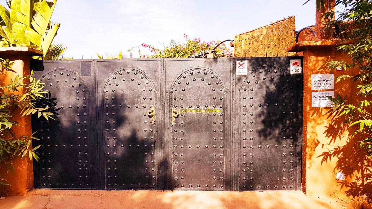 Le Paradis du Safran, Maroc