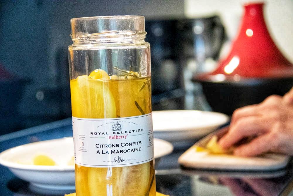 Konservierte Zitronen sind Hauptbestandteil der traditionellen marokkanischen Küche