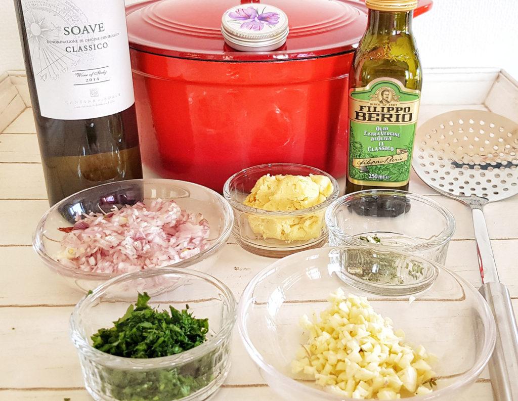 Recipe Moules et Frites