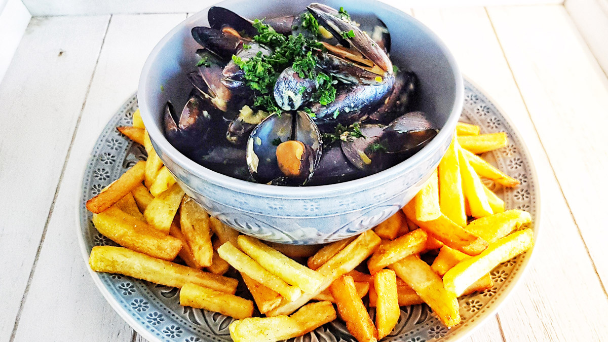 Recipe Moules et Frites