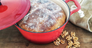 Walnut Bread, Le Creuset Duch Oven