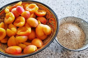 Glazed Apricot Hazelnut Cake Recipe
