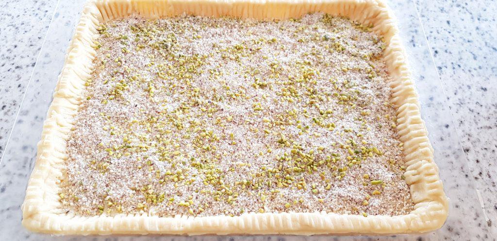 Glazed Apricot Hazelnut Cake Recipe