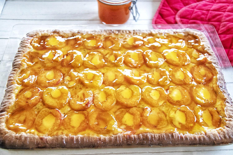 Grandma's Apricot Hazelnut Cake
