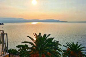 Grand Hotel Fasano, Gardone Riviera, Lago di Garda, Blick auf den See