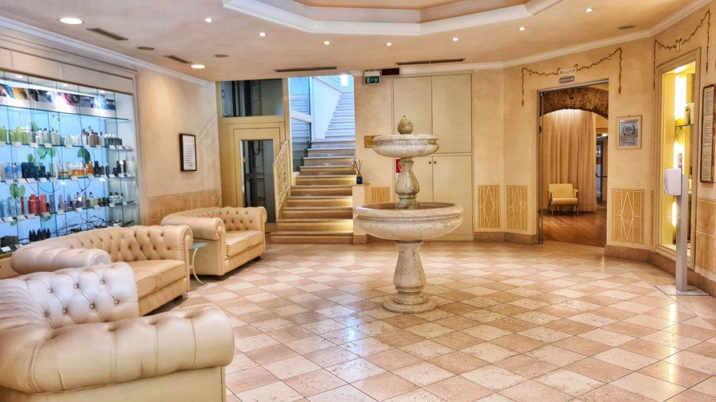 Grand Hotel Fasano, Gardone Riviera, Lago di Garda, Spa area