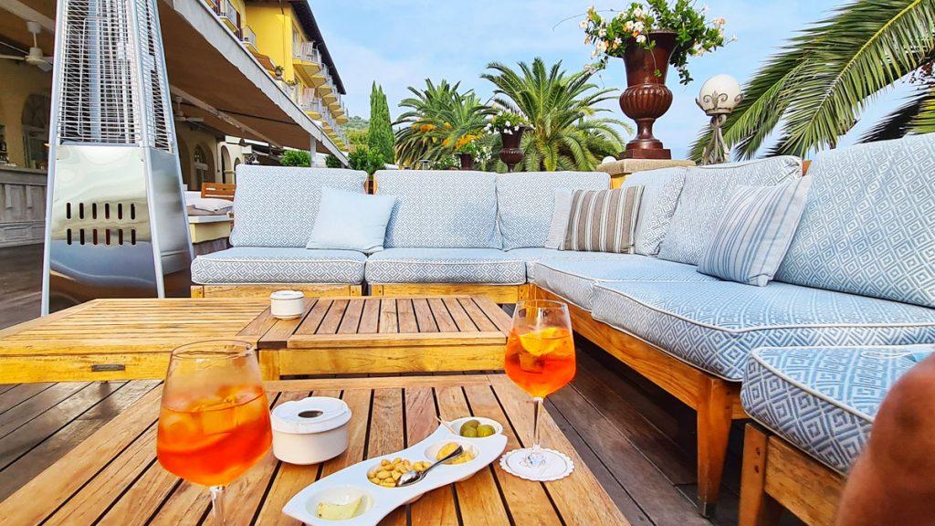 Grand Hotel Fasano, Gardone Riviera, Lago di Garda, on the terrace