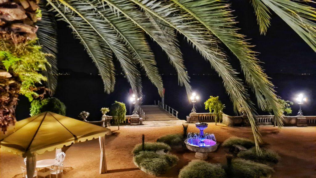Grand Hotel Fasano, Gardone Riviera, Lago di Garda, night view