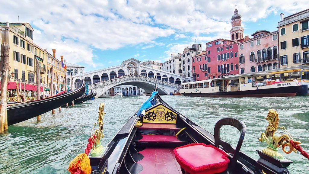 Venedig, Canale Grande Tour, Rialtobrücke