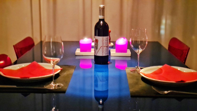 Laid Dinner Table