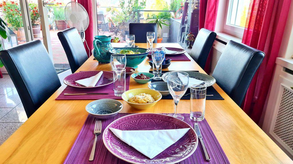 Dinner Table Da Cipriano