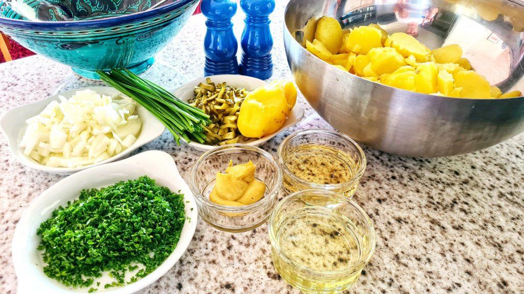 Potato Salad Cipriano Style